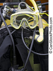 Diving Equipment - A collection of Scuba diving equipment