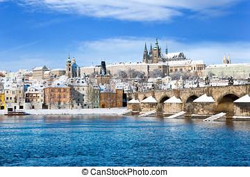 Prague castle, Czech republic - Prague castle and Charles...