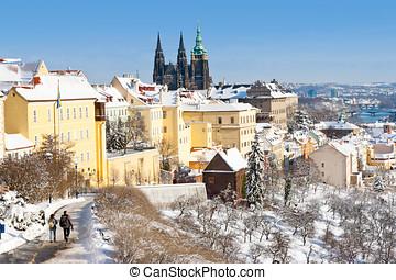 Prague castle, Czech republic - Prague castle and Lesser...