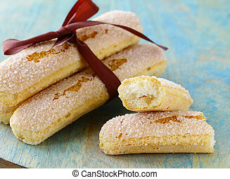 traditional Italian biscuit cookies savoryadi for tiramisu...