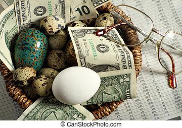 Investment nest egg