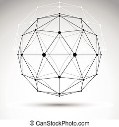 3D polygonal geometric object