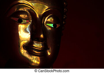 Green Eyed Budda - Green eyed budda of Thaialnd