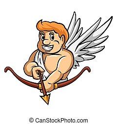 Cupid Arrow Mascot