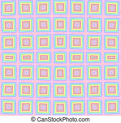 Bright color checkered pattern - Abstract background with...