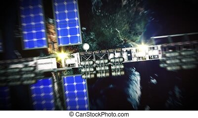 2X wide of CG Space Station V2 - 2X wide shots of CG Space...