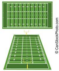 American Football fields