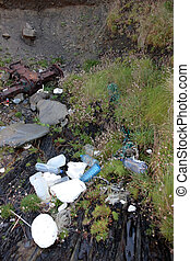 bad mess - rubbish dumped in our environment