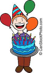 Birthday Party Kid