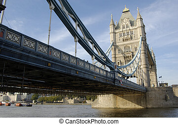 London-09-0081 - Tower Bridge from the South Bank, London,...