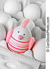 Ostern, ei, kaninchen