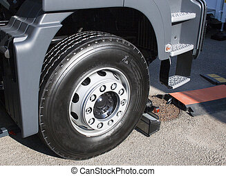 New wheel of articulated truck