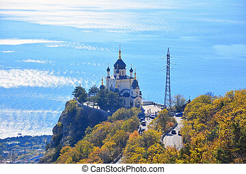 Temple in Crimea - The Church of the Resurrection of Christ...