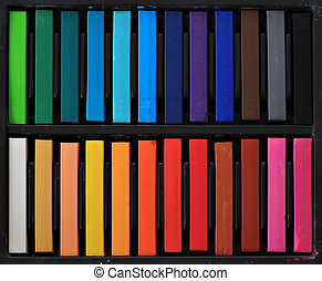 Pastels - Soft studio pastels for artists.
