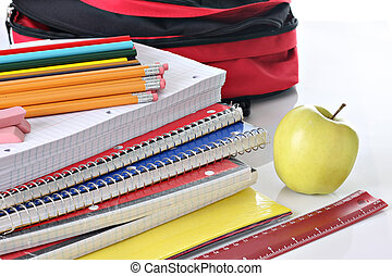 School supplies - Back to school supplies.