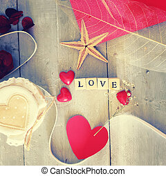 Love - Photo of wooden block with word LOVE