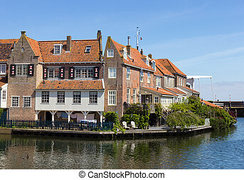 Enkhuizen - Houses in Enkhuizen, The Netherlands. The city...