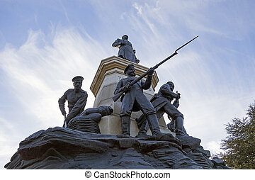 Monument to war of 1854 in Sevastopol, a monument to general...
