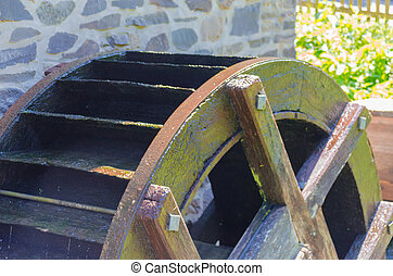 Old Water Mill Wheel - Old mill wheel of a Watermill