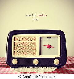 mondo,  radio, giorno