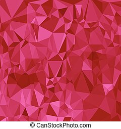 abstract polygonal pink background - illustration with...