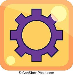 icon - simple icon of vector illustration