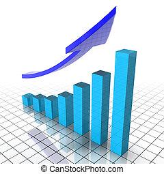 finanziario, grafico