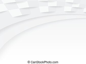 White Paper Background - Abstract Cover Design Illustration,...