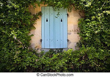 Shutter of a countryside house