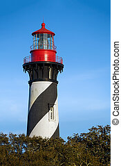 St Augustine Lighthouse - The historic St Augustine...