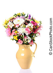 Fresh flower bouquet in a vase