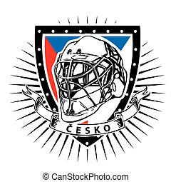 czech republic ice hockey shield