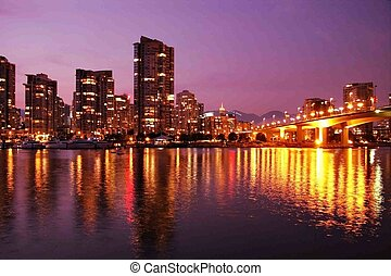 Vancouver - Beautiful Vancouver skyline, home of the 2010...
