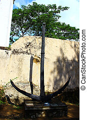 Anchor, Galle Fort