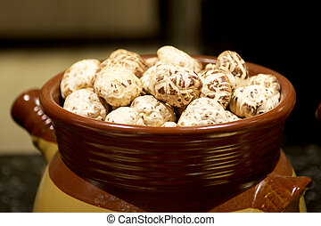 White Shiitake Chinese Mushrooms