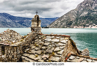 Old Church in Boka bay, Montenegro