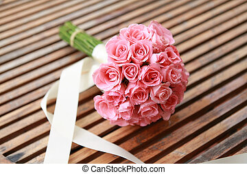 wedding flowers from pink rose flower