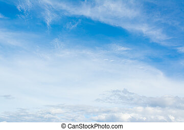 blue sky - image of clear sky on day time .
