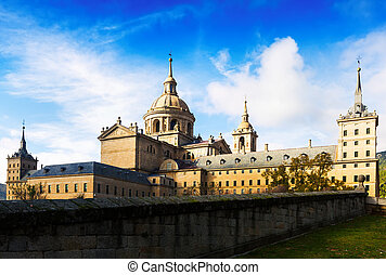 El Escorial View of Royal Palace Spain