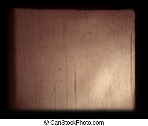 8mm film dust - the real film dust from 8mm projector
