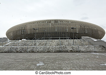 Cracow - Tauron Arena Krakow is the biggest in Poland...