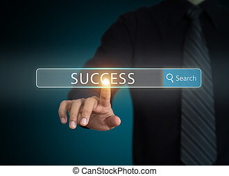 Searching success in business