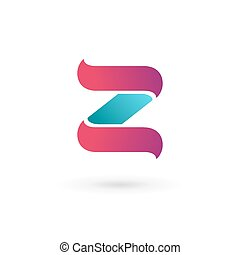 Letter Z logo icon design template elements