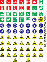 Information signs - This image is a vector illustration and...