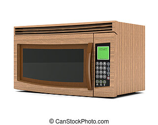 microwave - Image of the microwave on a white background