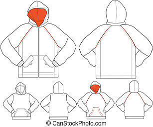 man jacket in different style