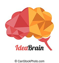 Idea design, vector illustration. - Idea design overwhite...