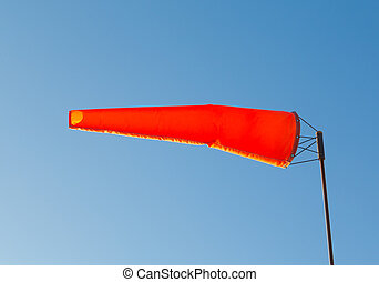 Orange Wind Indicator