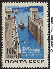 vintage postage stamp set two