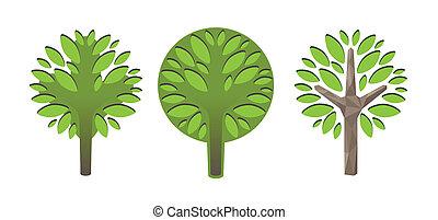 Deciduous trees - Image of de